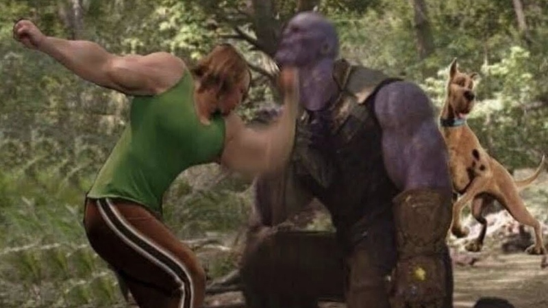 Shaggy vs Thanos Full Fight (Avengers Endgame Leak)