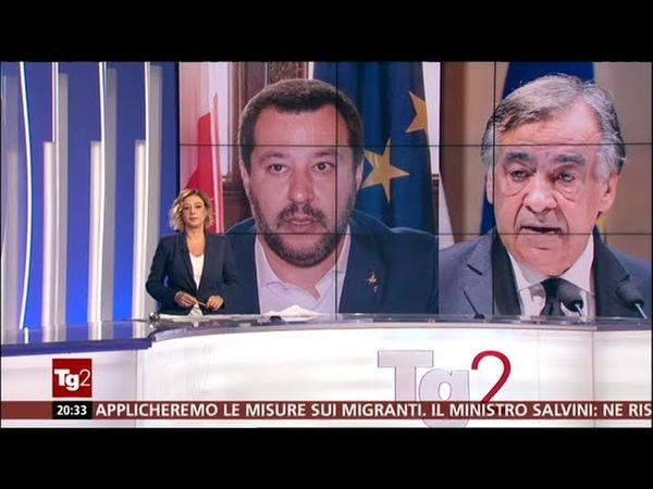 """Leoluca Orlando sospende dl sicurezza. """"A Palermo non lo applico"""". Salvini: Ne risponderà"""