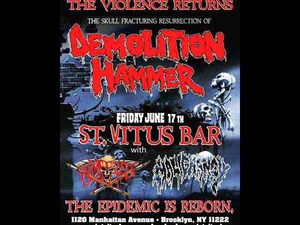 Malignancy - Live @ St. Vitus Bar (6/17/16)