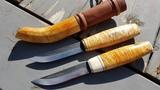Last Week's Puukko Knife Projects