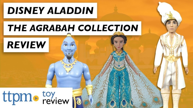 ОБЗОР кукол: Disney Aladdin The Agrabah Doll Collection from Hasbro