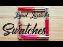 Обзор Anastasia Beverly Hills Liquid Lipsticks Swatches Jayne Mois