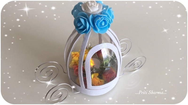 Best Out Of Waste Plastic Bottle Carriage Lantern Showpiece Out Of Plastic Bottle Priti Sharma