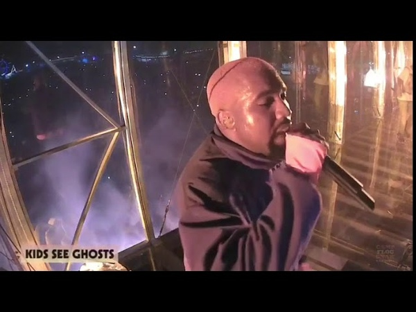 Kanye West and Kid Cudi Perform Pursuit Of Happiness and Ghost Town | Camp Flog Gnaw 2018