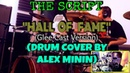 THE SCRIPT - HALL OF FAME (GLEE CAST VERSION, DRUM COVER BY ALEX MININ)