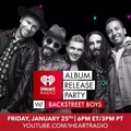 Backstreet Boys on Instagram Were celebrating the release of our album #BSBDNA with @iHeartRadio! Tune into our album release party Jan 25th at ...