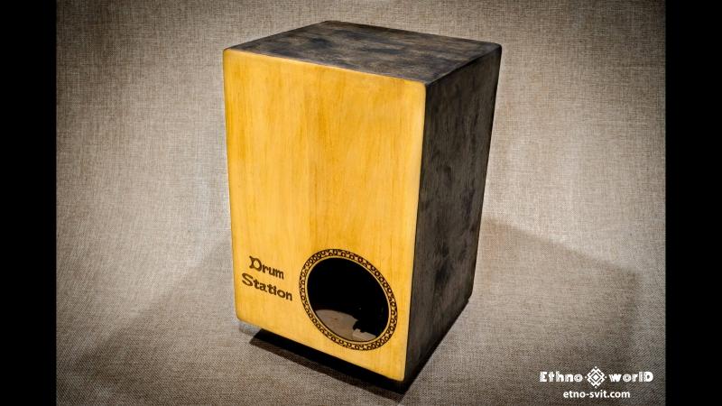 Кахон (cajon) Джембе (djembe) двосторонній - Drum Station | Етно Світ | Ethno World