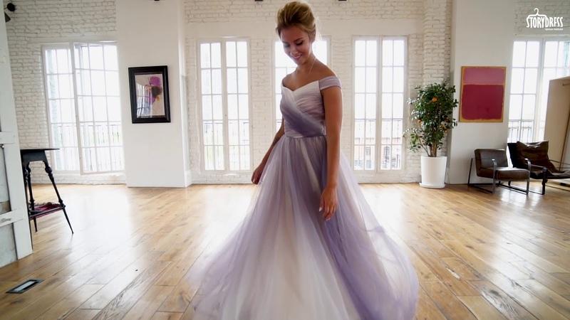 Вечернее платье Assol Gradient