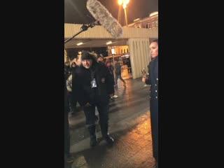 Фото со съемок Новогодней ночи на [club25380626|Первом канале]. Алсу исполнила песню