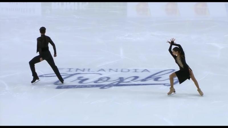 Анастасия Шпилевая / Григорий Смирнов - РТ. Finlandia Trophy 2018