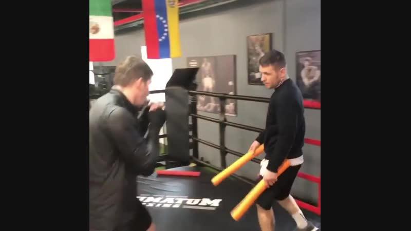 Алексей Папин готовится к возвращению в ринг
