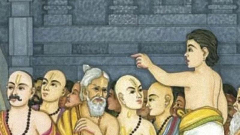 Цепь приемственности от Бхактивинода Тхакура к другим гуру