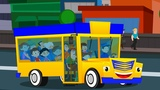Wheels on the bus go round and round Kids Songs