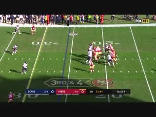 Чикаго-49ерс - лучшие моменты - неделя 16 - американский футбол