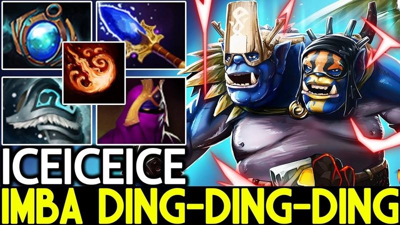 Iceiceice [Ogre Magi] Imba 8X Fireblast Magic Build 7.19 Dota 2