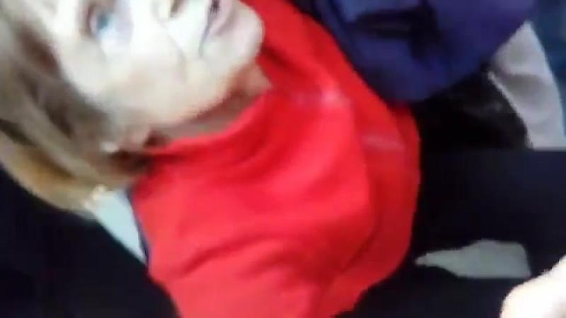 09.09 - В Омске менты избили пенсионерку!