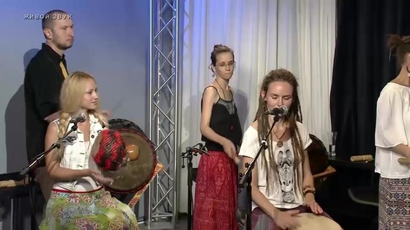 YANKADI студия африканских барабанов, Baga Gine в программе Вполголоса