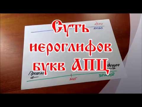Русские иероглифы АПЦ / Видео 2 /