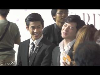170614 Singto_u0026Krist - คมชัดลึก Awards ครั้งที่ 14 (พรมแดง, สัมภาษณ์สื่อก่อนเข้างาน)