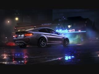 Бмв в дождь / BMW in rain