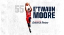 E'Twaun Moore Season in Review 2018 19 Pelicans Highlights