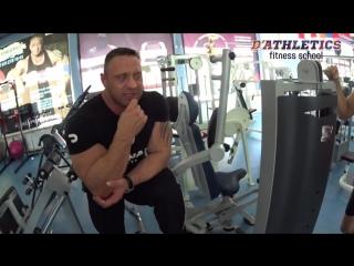 Практика в Школе фитнеса Д.Крылова. Индивудальный подход от Дмитрия Крылова