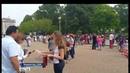Новости на Россия 24 Георгиевская ленточка символ Победы раздали на улицах Вашингтона