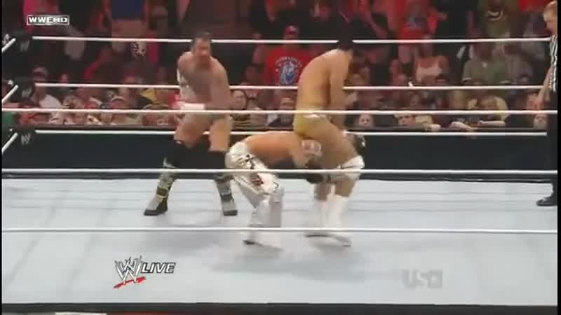 |WM| Cm Punk vs Rey Mysterio vs Alberto Del Rio - RAW 20.06.2011
