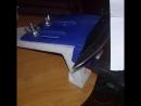 Нож после заточки и доводки на пасте гои Складной нож