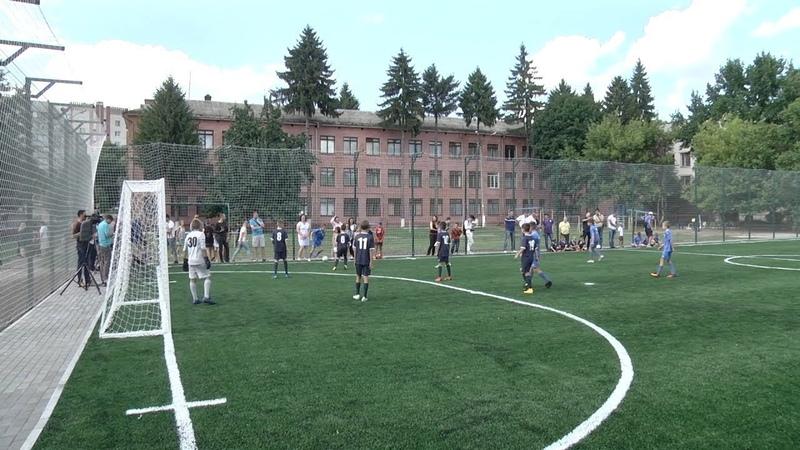 Новий футбольний майданчик у Чернігові| Телеканал Новий Чернігів
