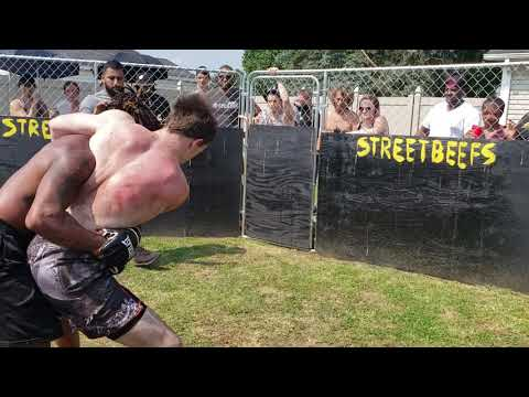 STREETBEEFS MENACE MIKE VS ROME MMA