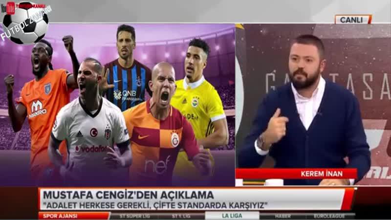 TFF Çifte Standart Uygulamamalıdır! Galatasaray Spor Ajansı 14 Kasım 2018