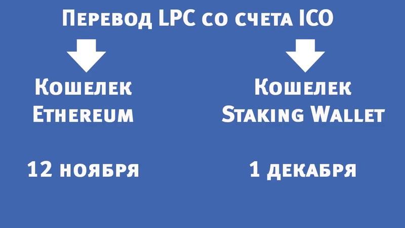 """Завершение ICO LeoPays Контракты """"Staking Wallet"""" Ответы на вопросы"""