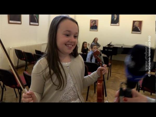 Uspešni đaci muzičke škole u Boru, 27.maj 2019. (RTV Bor)