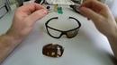 Ремонт лопнувшей оправы солнцезащитных очков