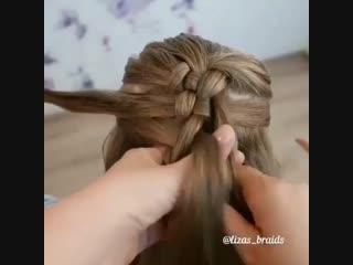 Красивое плетение волос для девочек