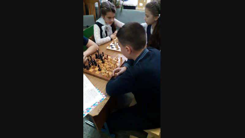 Шахматный турнир (сюжет игры по швейцарской системе)