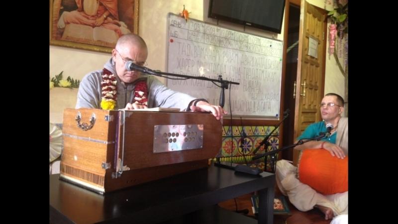Прабхавишну прабху. 22.09.18 Бхаджан Бхактивинода Тхакура