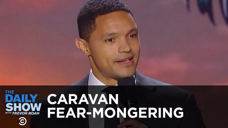 Caravan Fear-Mongering - Between the Scenes   The Daily Show