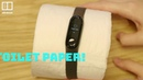 Xiaomi's fitness tracker detects heartbeats from toilet paper