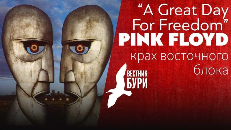PMTV Channel и Вестник бури крах Восточного блока в песне A Great Day For Freedom (Pink Floyd)