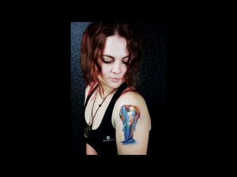 Adilius Tattoo / Татуировка для Кристины / Слон
