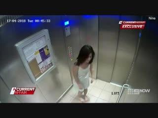 Жена избила себя в лифте, чтобы обвинить мужа в домашнем насилии