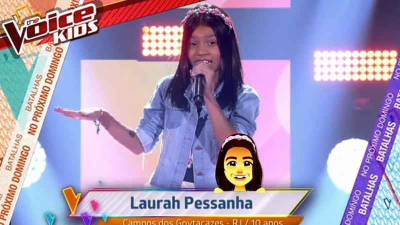 Laurah Pessanha - Banho de Lua |The Voice kids Brasil 2019