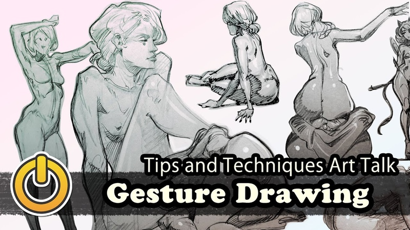 More About Gesture and Drawing by Reiq