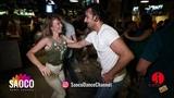 Tomas Münür Tenekeci and Aleksandra Anisimova Salsa Dancing