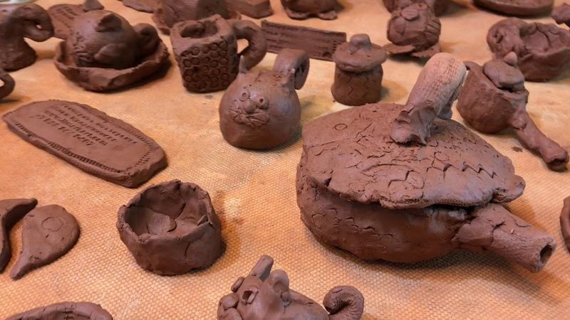 🍯 Что лепить из глины Детский лепет 3 Обучение гончарству Волшебство керамики