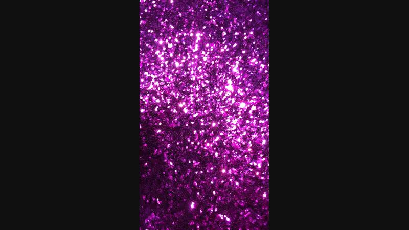 Эко кожа крупный глитер пурпур