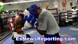 Mikey Garcia Sparring Fabian Maidana - esnews boxing