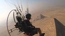 Guy Captures Stunning Views While Paramotoring Over Pyramids